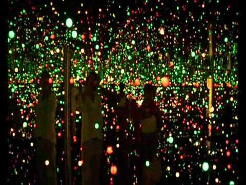 Light installation at Louisiana Art Museum