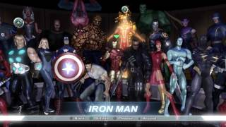 Marvel Ultimate Alliance All Skins including DLC