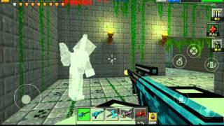 Играем в игру pixel gun 3d 1 серия:лаги!!!!!