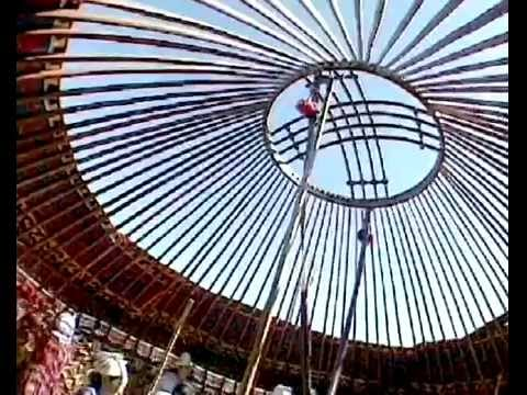 Traditional knowledge and skills in making Kyrgyz and Kazakh yurts