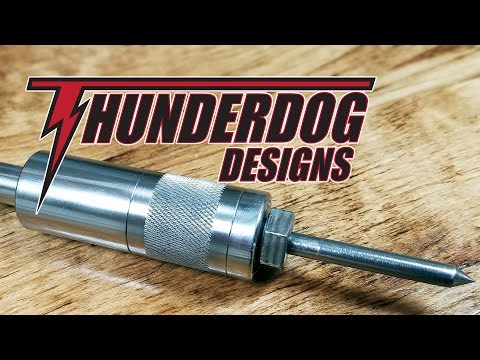 Metal Lathe Spring Center // Beginner Lathe Projects
