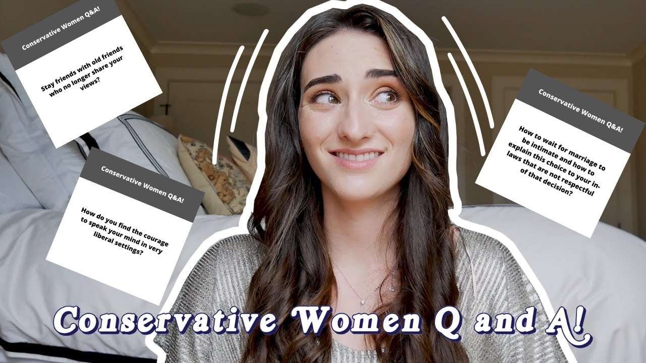 Conservative Women Q&A!! || You guys asked some interesting questions...
