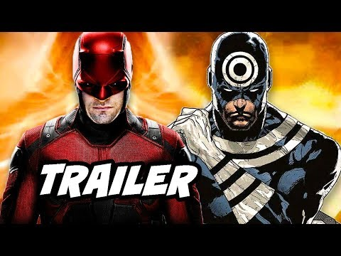 Daredevil Season 3 Official Trailer - Daredevil vs Bullseye Marvel Easter Eggs