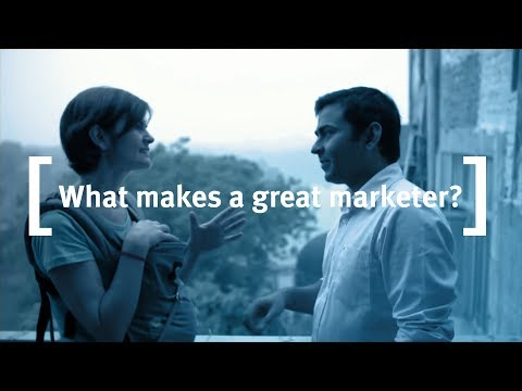 Cass Business School on Marketing: What makes a Great Marketer?