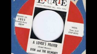 Dion & The Belmonts - A Lover