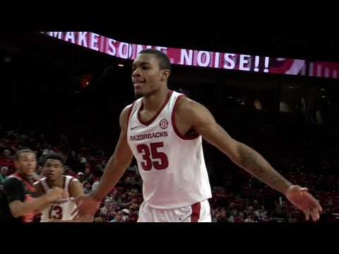 Arkansas vs. Tusculum Hoops Highlights 10-26-18
