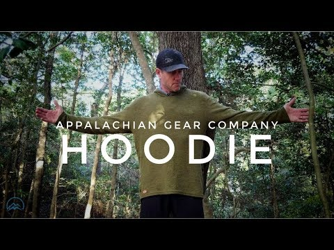 I Love This Hoodie! Appalachian Gear Company - Alpaca Hoodie - Backpacking Gear Review