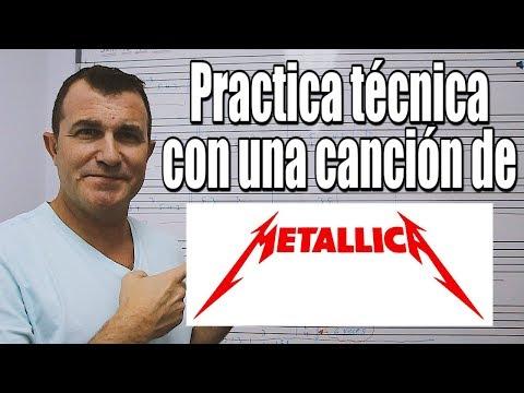 "Técnica de mano izquierda y Palm mute: ""Jump in the Fire"" de Metallica"