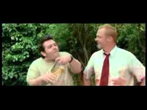 Shaun of the Dead Bloopers Part 2/2