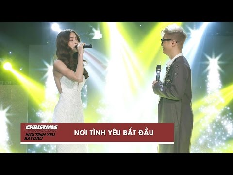 Nơi Tình Yêu Bắt Đầu - Hồ Ngọc Hà, Bùi Anh Tuấn | Christmas Live Concert (Official Video)