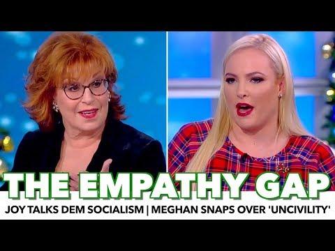Meghan McCain Snaps Over 'Uncivil' Applause   Joy Behar Defends Democratic Socialism