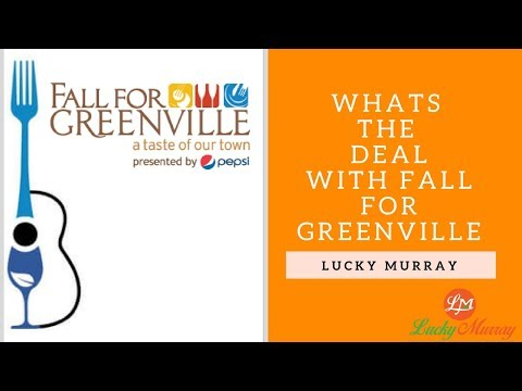 Whats The Deal With Fall For Greenville