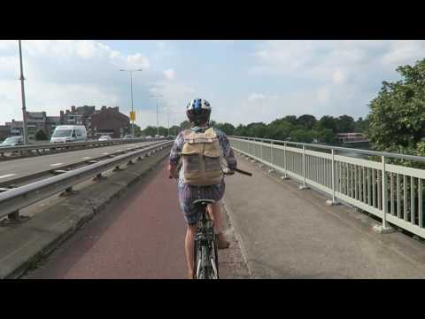 Vegan in Netherlands - Food, Cycling, Organic local Fruit