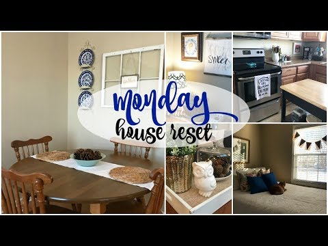 Monday House Reset | Before and After from YouTube · Duration:  7 minutes 18 seconds