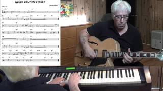 GREEN DOLPHIN STREET _ Jazz guitar & piano cover ( Bronislaw Kaper ) Yvan Jacques