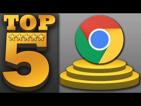 """Top 5 """"FREE"""" Google Chrome Apps & Extensions (Best Extensions & Apps)"""