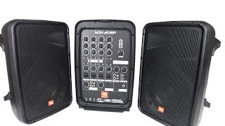 JBL EON208P | 8-Channel Mixer and Bluetooth Speaker