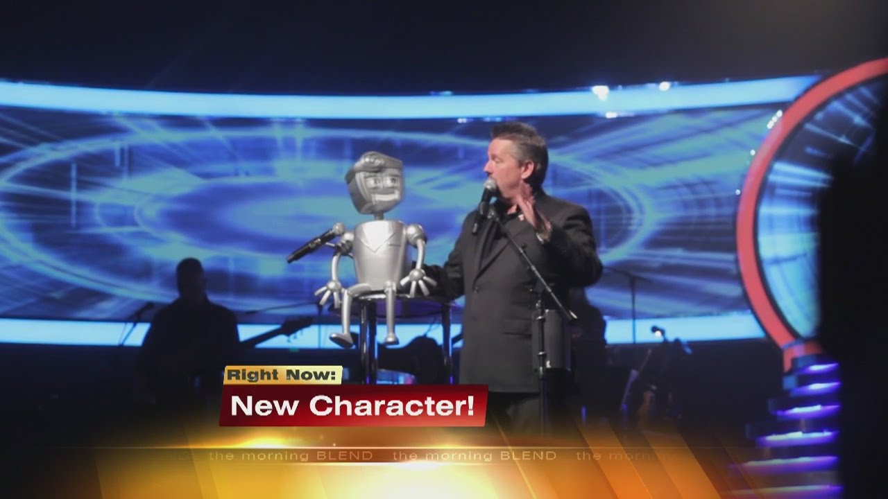 terry fator introduces rusty the robot new puppet to las vegas show youtube. Black Bedroom Furniture Sets. Home Design Ideas