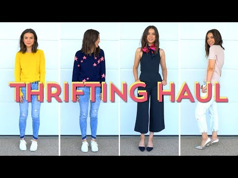 Try-On Thrifting Haul + Save $ on Designer Brands! | Ingrid Nilsen