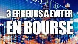 LES 3 ERREURS A ÉVITER EN BOURSE +1 BONUS - Le cas du Pétrole/WTI, par notre expert day trading