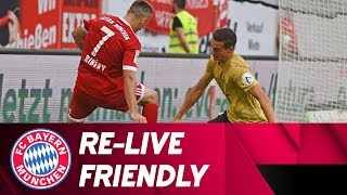 Re-live - kickers offenbach vs. fc bayern münchen | freundschaftsspiel //friendly