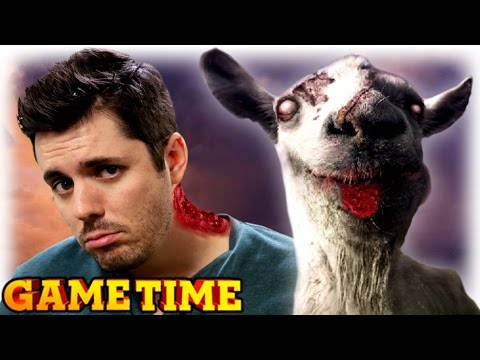PLAYING GOD IN GOATZ (Gametime w/ Smosh Games)
