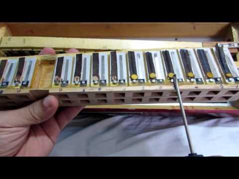 Afinação de acordeon notas nos castelos