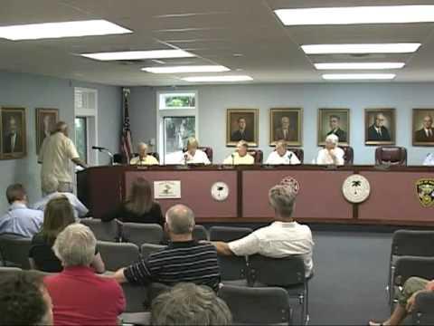 7/28/11, Public Hearing, Isle of Palms, South Carolina