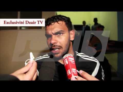 Interviews Après match Raouraoua Soudani Taider Bentaleb et Mahrez