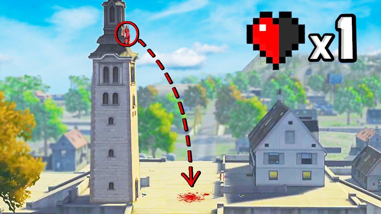 ¡ES IMPOSIBLE SOBREVIVIR a este SALTO de CLOCK TOWER! 😣 - FREE FIRE RANDOM