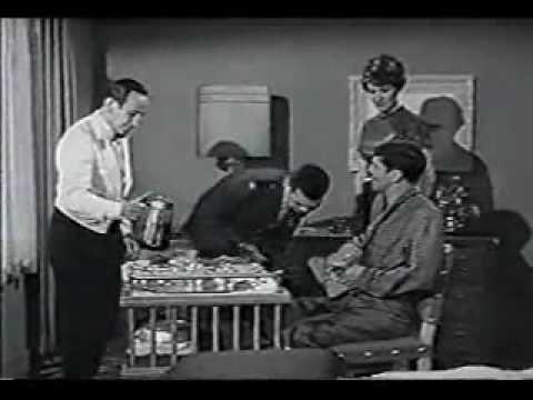 Leonard Nimoy,  Majel Barrett and Gary Lockwood in The Lieutenant (1964)