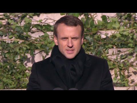 """Emmanuel Macron : """"Johnny Hallyday était une part de la France"""""""