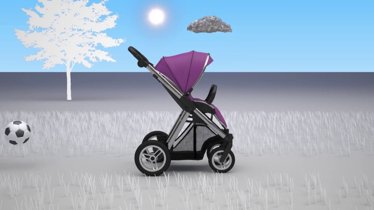 Babystyle Oyster Max Stroller Double Pram