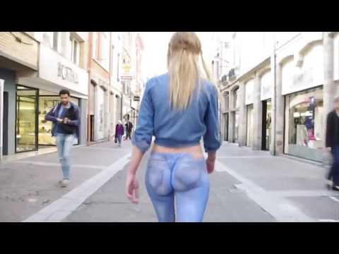 Boyayla Yapılmış Pantolonla Sokakta Dolaşmak