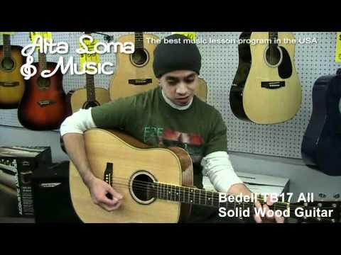 Guitars Rialto CA - Alta Loma Music - Great Divide LGD1N. Acoustic Guitar