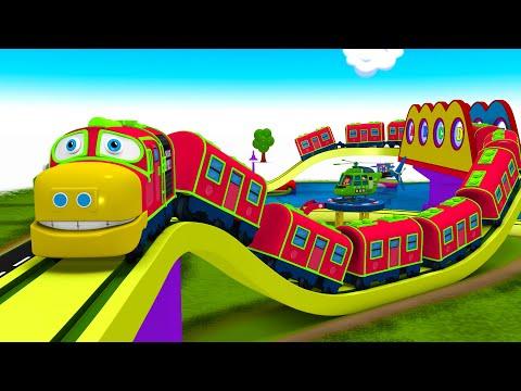 Choo Choo Chuggi Train - Red Chuggi Toy Train Cartoon Toy Factory