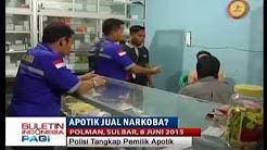 Pemilik Apotek Ditangkap Polisi Karena Diduga Menjual Obat Berdosis Tinggi - BIP 09/06