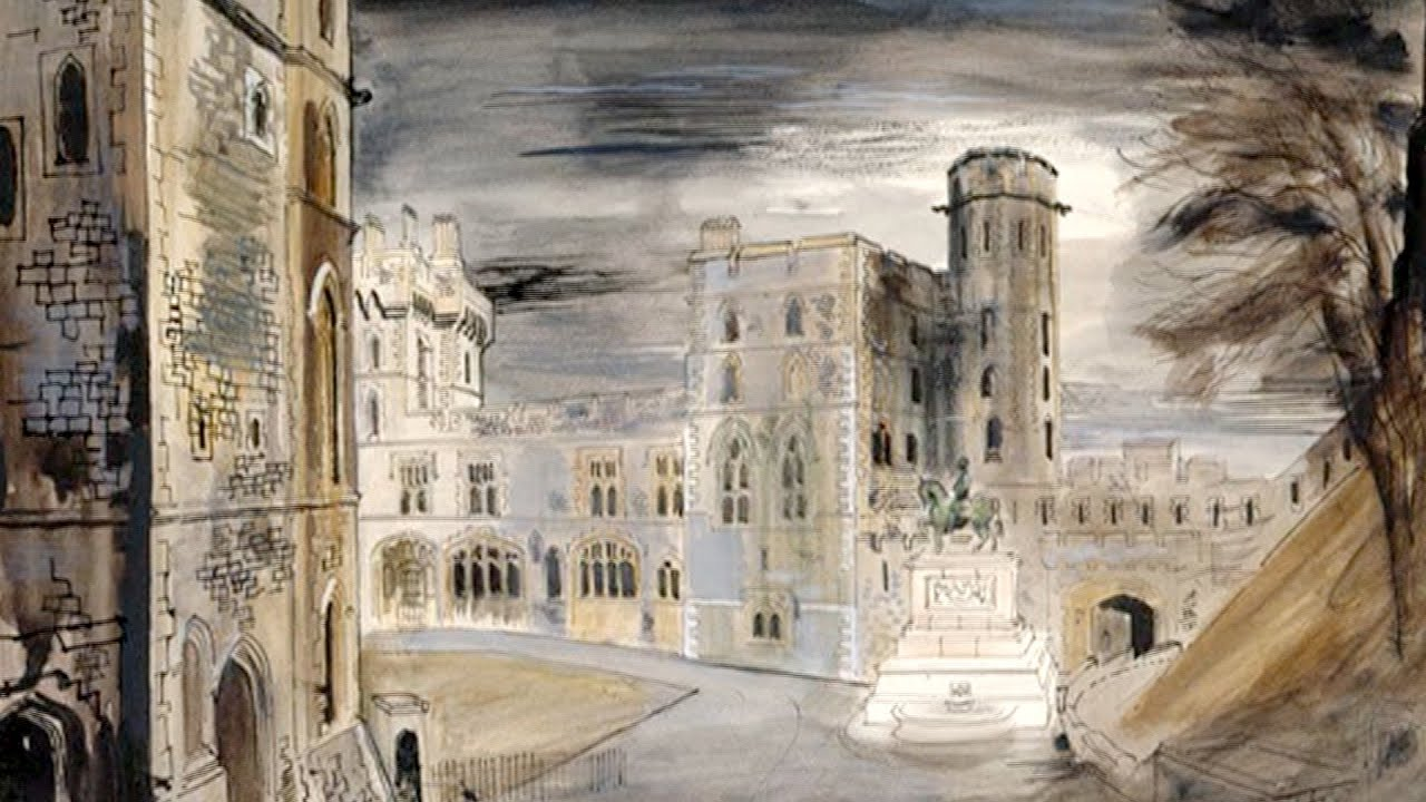 "Windsor Berkshire"" by artist John Piper - YouTube"