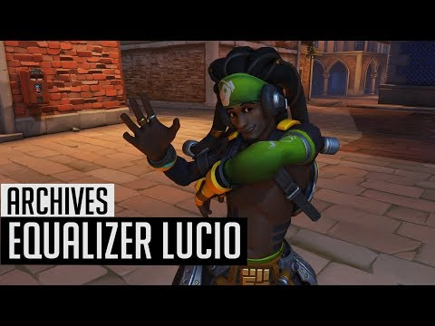 Overwatch Archives 2018 | Equalizer Lucio Skin In-Game + Highlight Intros | Uprising/Retribution