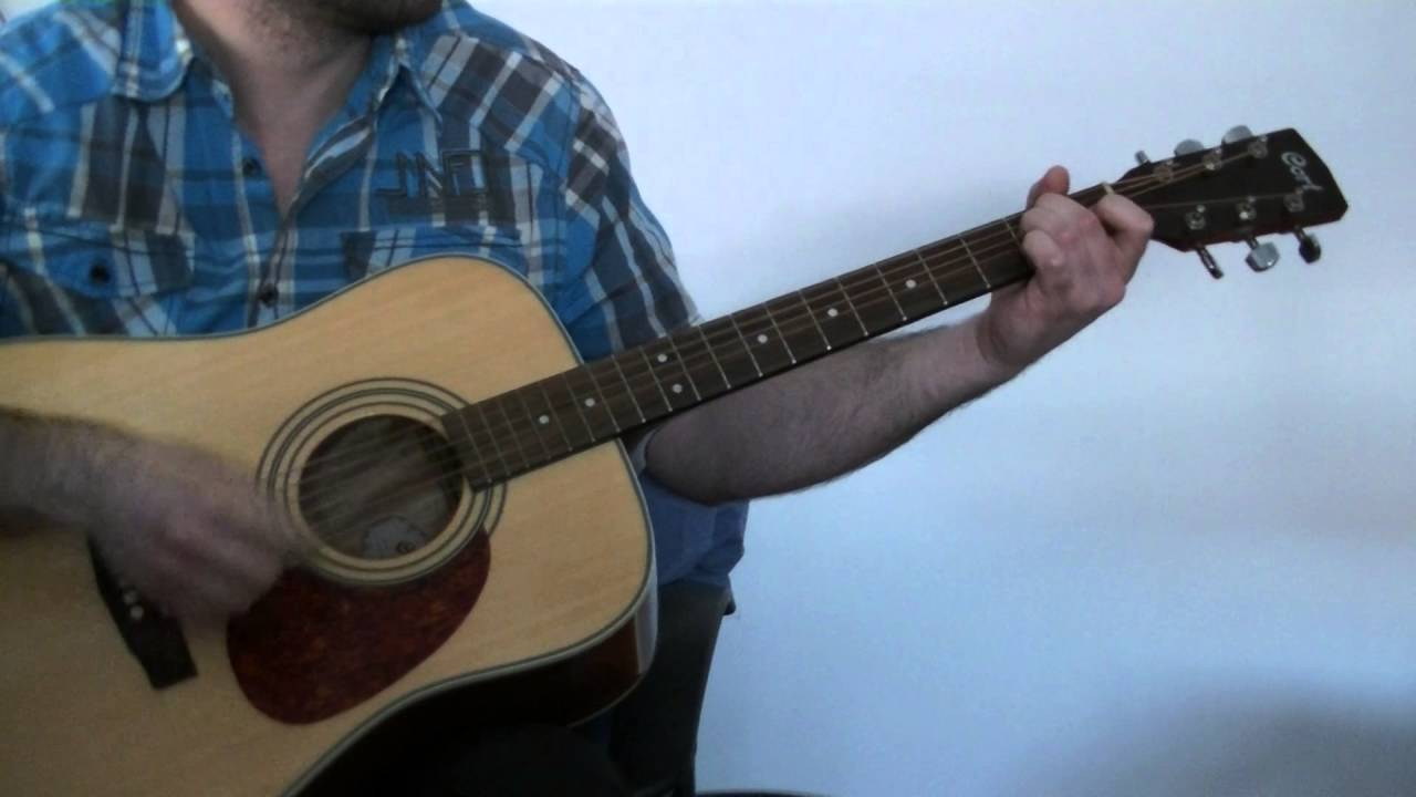 Black Horse And The Cherry Tree Acoustic Lesson Youtube