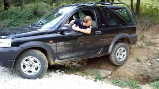land rover freelander off road parte 1