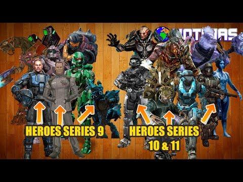 NOTICIAS HALO HEROES SERIES 8 COD HEROES SERIES 3 HALO MEGA CONSTRUX