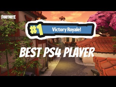 BEST PS4 FORTNITE PLAYER #1 RANKED - BEST PS4 FORTNITE PLAYER live stream. NEW UPDATE!!!