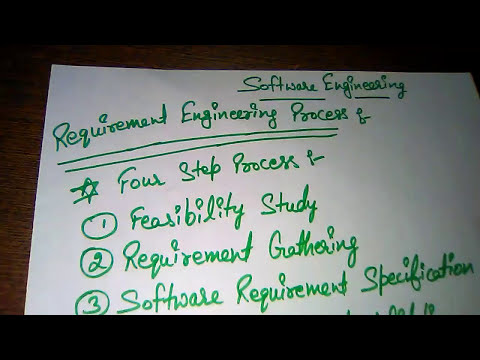 Feasibility Study in Requirement Engineering Process !! Software Engineering !! BCA !! MCA !! B.Sc