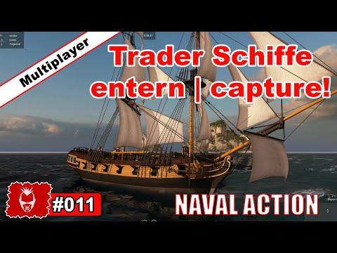 Naval Action #011 ✰ Trader Schiff entern   capture! ✰ Tutorial Mission