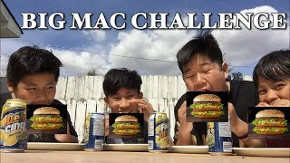 THE BIG MAC CHALLENGE!!