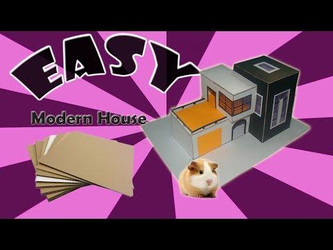 Cardboard Modern House