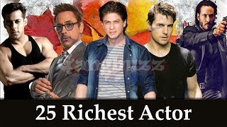 Top Richest Actors In The World - 25 Richest Actor In The World Forbes | Worlds Richest Actor |