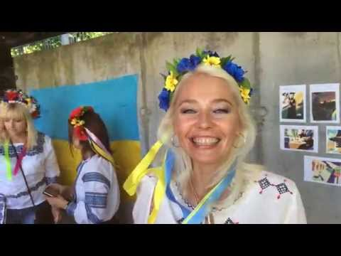Ukraine: Donetsk commemorate the victims of fascism on Independence Day from YouTube · Duration:  51 seconds