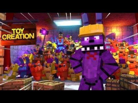 Minecraft Fnaf: Animatronic Toy Creation (Minecraft Roleplay)